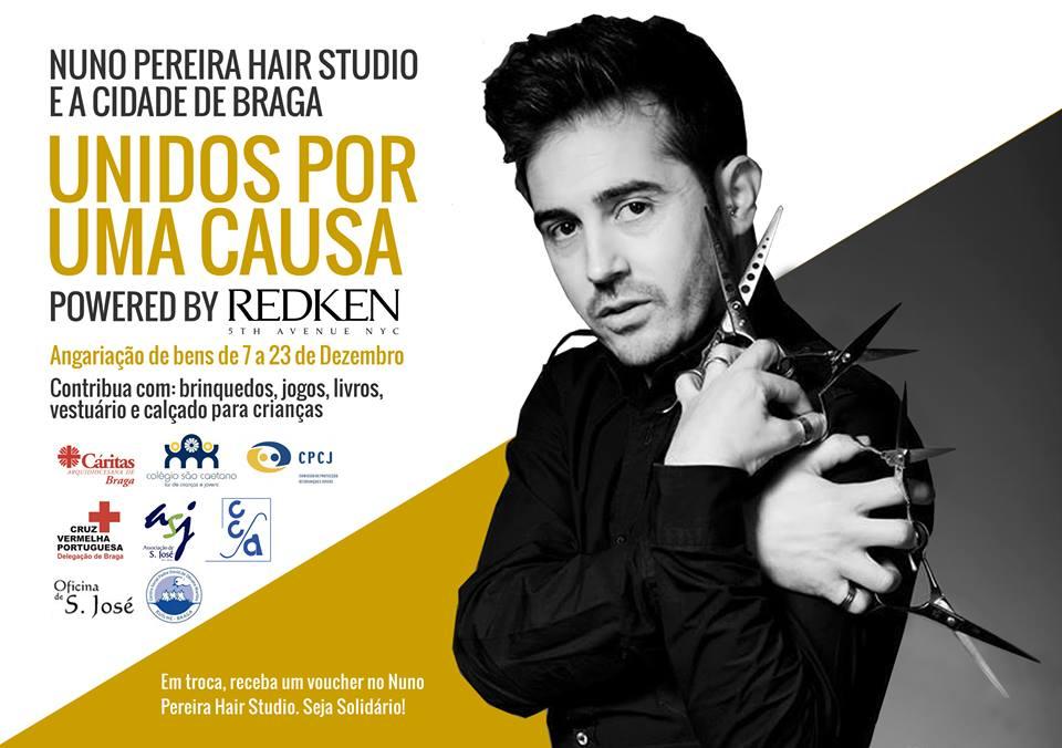 Nuno Pereira Hair Studio e a Cidade de Braga Unidos por Uma Causa